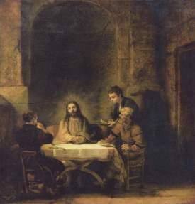 Rembrandt, Emmaus