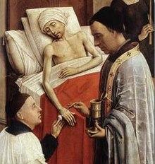 Vander Weyden Altarpiece, Anointing
