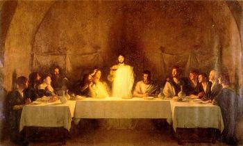 Bouveret, Last Supper