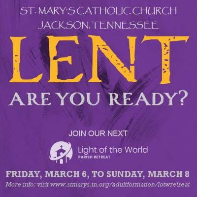 Square Ad for Lent (Mar. 2020)