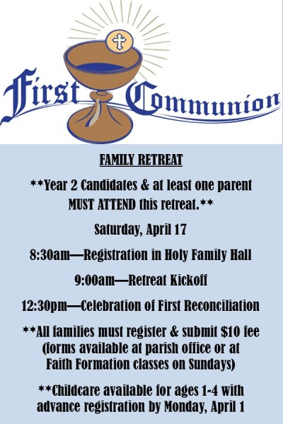Family Retreat Announcement (2021)